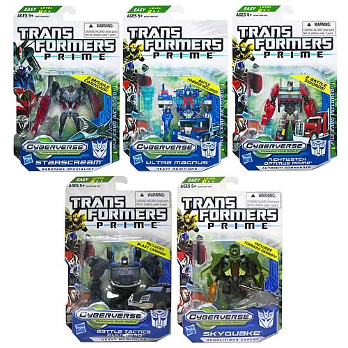 Transformers Prime Cyberverse  Commander Wave 4