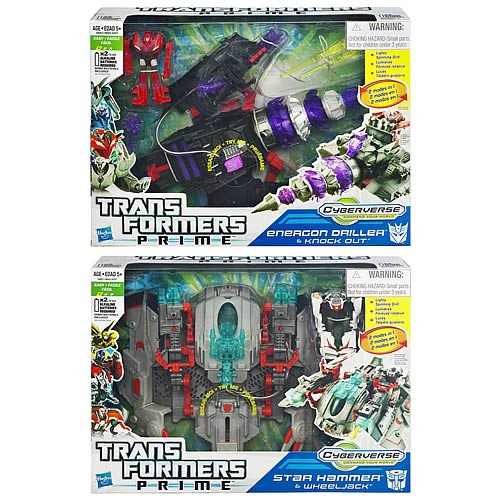 Transformers Prime Cyberverse Vehicles Wave 1