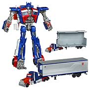 Transformers Movie Trilogy Optimus Prime with Trailer