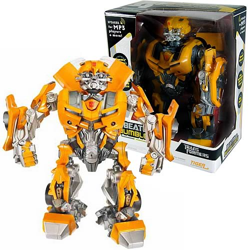 Transformers Electronic Beatmix Bumblebee Figure