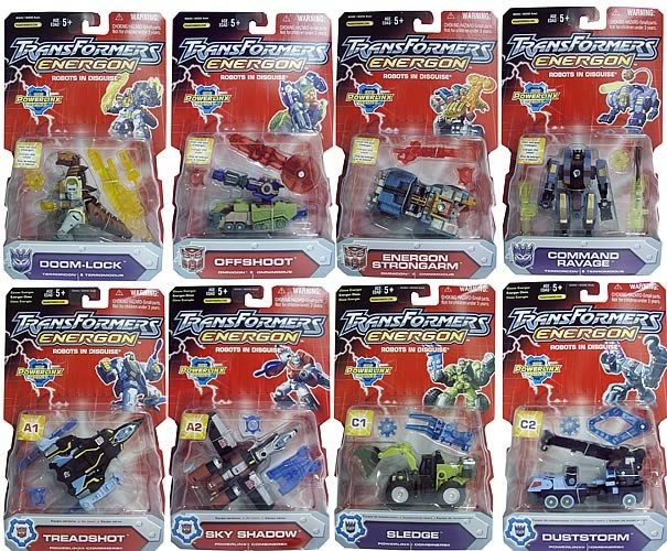 Energon Basic Assortment 6