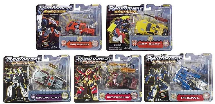 Energon Deluxe Assortment 2