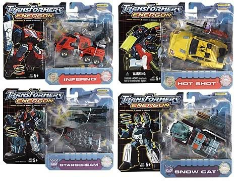 Energon Deluxe Assortment 1.5 Set