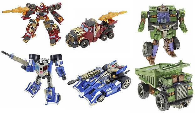 Energon Deluxe Assortment 3