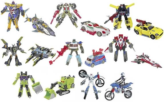Energon Deluxe Assortment 5