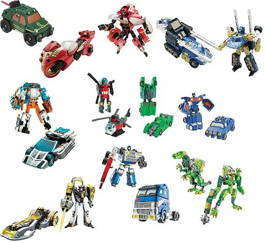 Transformers Cybertron Scout Wave 3