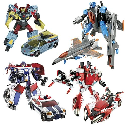 Transformers Cybertron Deluxe Wave 2 Rev. 2 Set