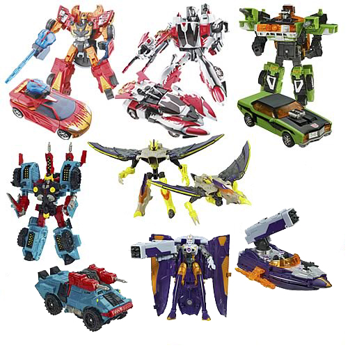 Transformers Cybertron Deluxe Wave 6