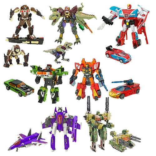 Transformers Cybertron Deluxe Wave 9