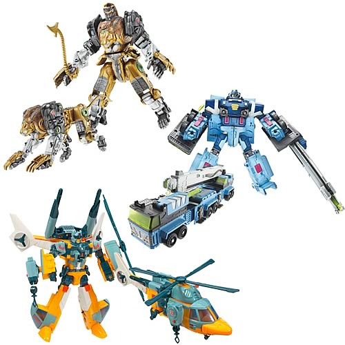 Transformers Cybertron Voyager Wave 3