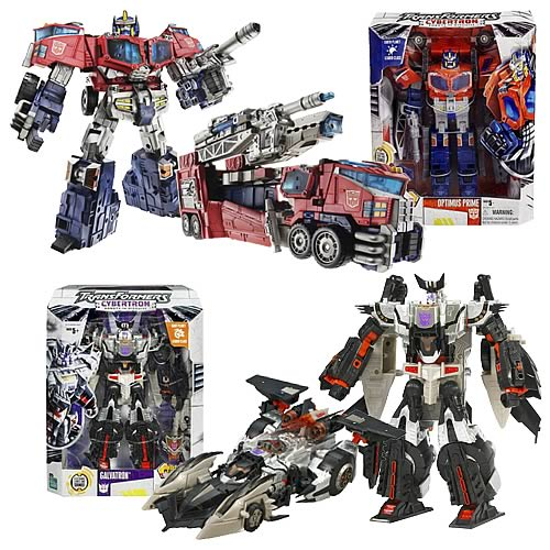 Transformers Cybertron Leader Wave 2