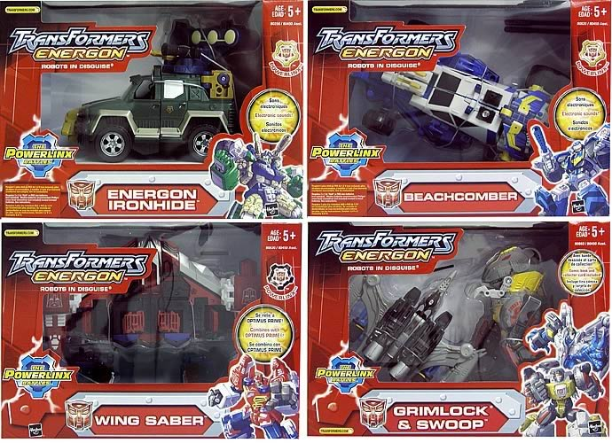 Energon Mega Assortment 4