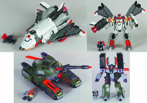 Gigacon Megatron/Jetfire Asst.