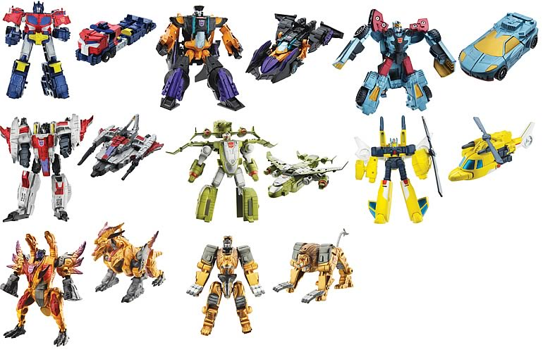 Transformers Legends of Cybertron Wave 2