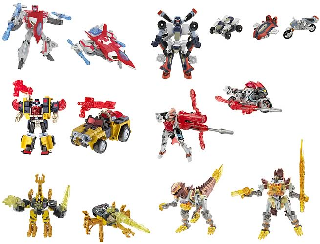 Transformers Universe Basic Assortment 1 Set