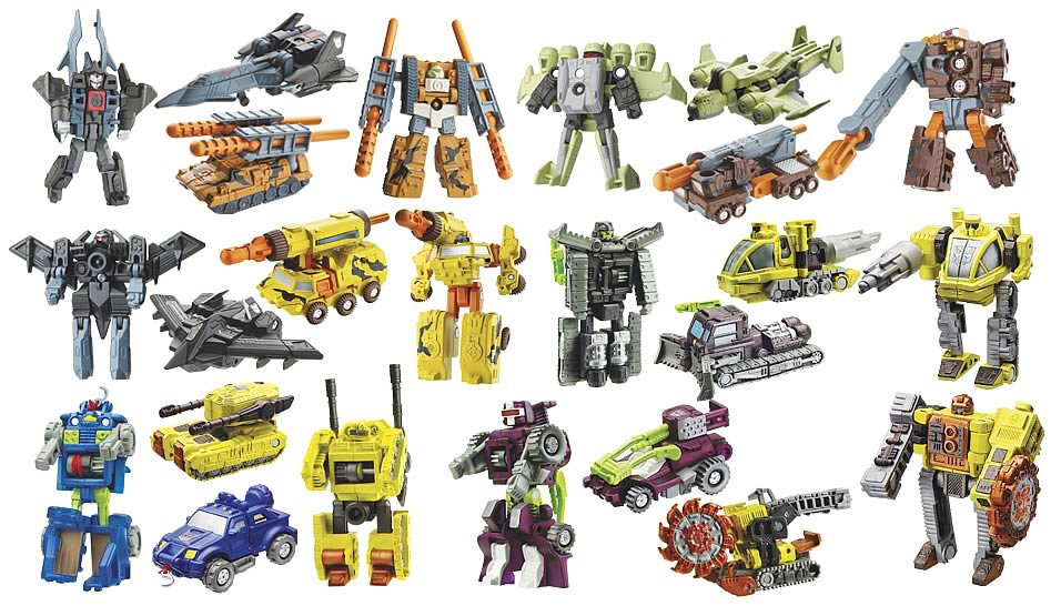 Transformers Cybertron Mini-Con 2-Packs Set