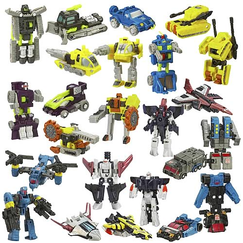 Transformers Cybertron Mini-Con 2-Packs Wave 3 Rev. 1