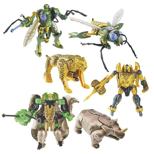 Beast Wars Transformers 10th Anniversary Wave 1 Set