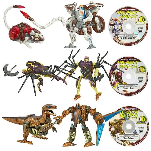 Beast Wars Transformers 10th Anniversary Wave 2