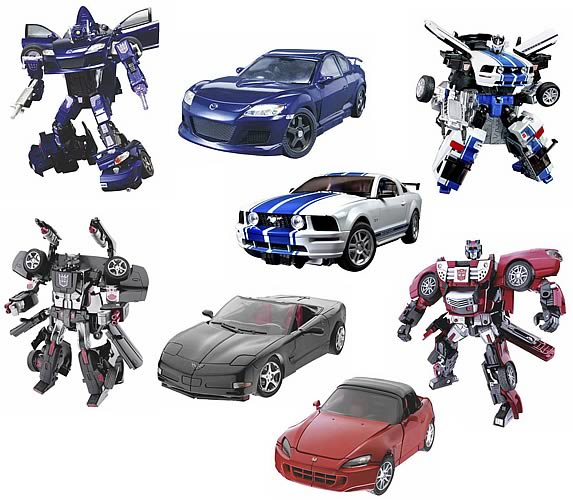 Transformers Alternators Assortment 6