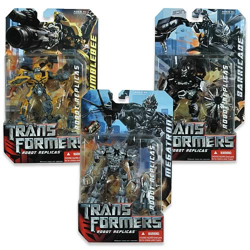 Transformers movie robot action figures wave revision