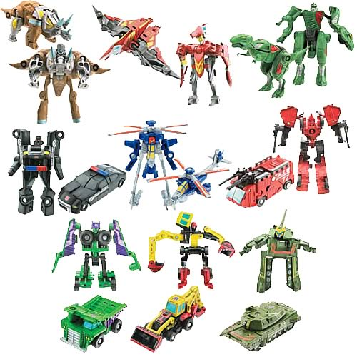 Transformers Classics Mini-Cons Wave 1 Set