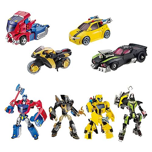 Transformers Animated Deluxe Figures Wave 1 Set
