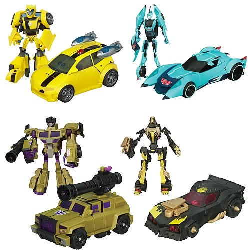 Transformers Animated Deluxe Action Figures Wave 5 Case