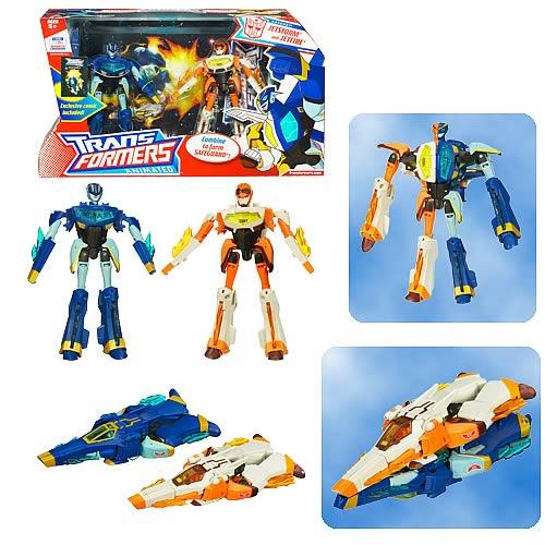 Transformers Animated Jetfire and Jetstorm