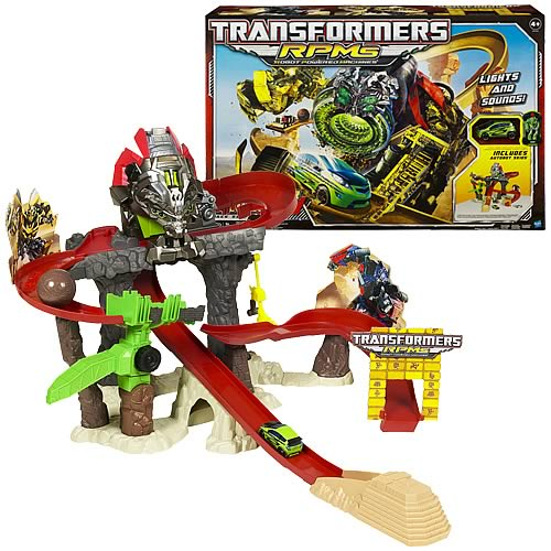 Transformers RPMs Devastator Showdown Track Set