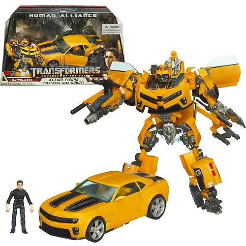 Transformers ROTF Human Alliance Bumblebee with Sam
