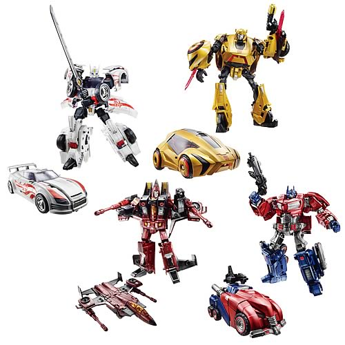 Transformers Generations Deluxe Figures Wave 1 Set