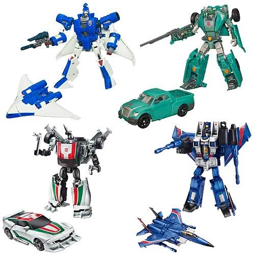 Transformers Generations Deluxe Figures Wave 7 Set