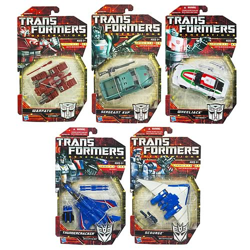 Transformers Generations Deluxe Figures Wave 8