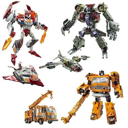 Transformers Voyager Figures Wave 4