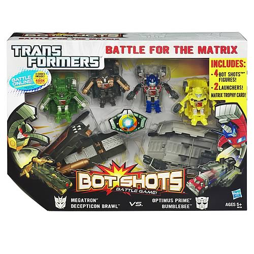 Transformers Bot Shots Ultimate Battle for the Matrix Set