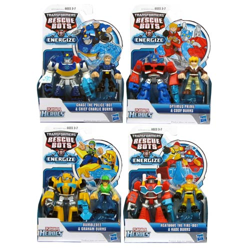 Transformers Rescue Heroes Minicons 2-Packs Wave 1