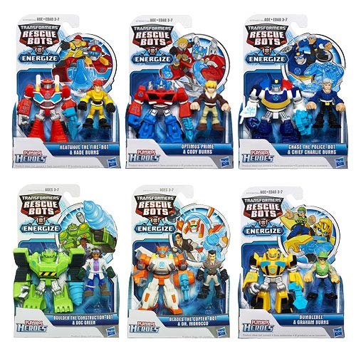 Transformers Rescue Heroes Minicons 2-Packs Wave 2