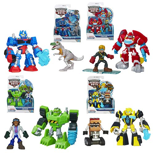 Transformers Rescue Heroes Minicons 2-Packs Wave 3