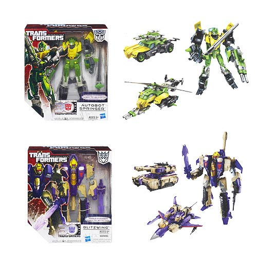 Transformers Generations Voyager Wave 3 Set