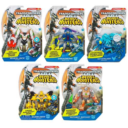 Transformers Prime Beast Hunter Deluxe Figures Wave 3