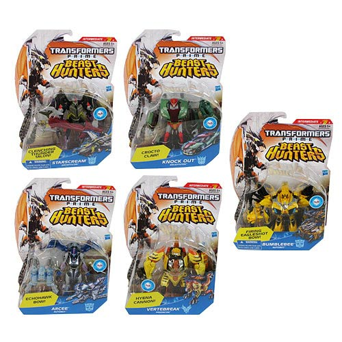 Transformers Prime Beast Hunter Deluxe Figures Wave 4