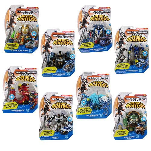 Transformers Prime Beast Hunter Deluxe Figures Wave 5