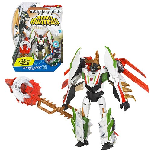 Transformers Prime Beast Hunter Deluxe Wheeljack