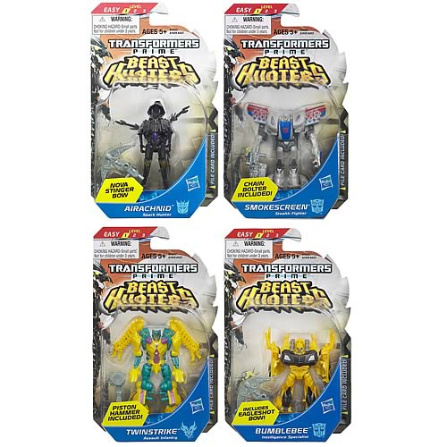 Transformers Prime Beast Hunter Cyberverse Legion Wave 1