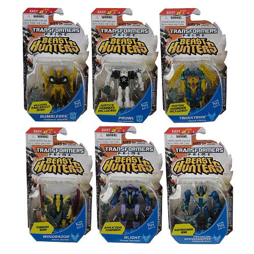 Transformers Prime Beast Hunter Cyberverse Legion 4R1 Set