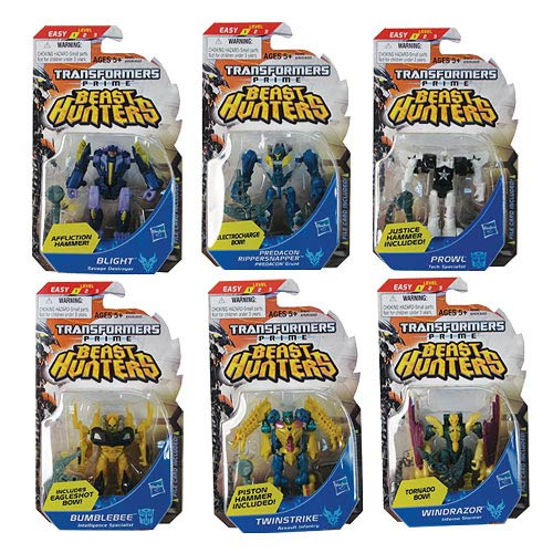 Transformers Prime Beast Hunter Cyberverse Legion Wave 4 Set