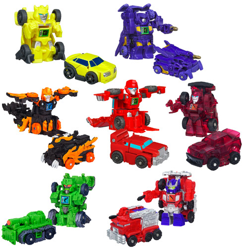 Transformers Bot Shots 2013 Mini-Figures Wave 2