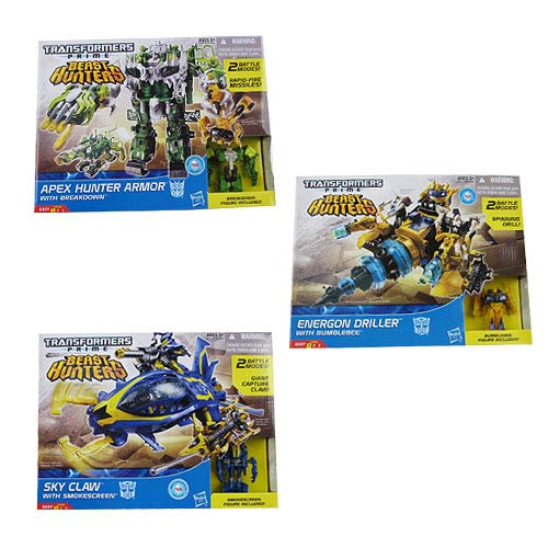 Transformers Beast Hunters Beast Tracker Vehicles Wave 2