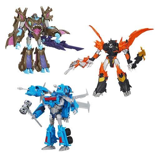 Transformers Prime Beast Hunter Voyager Figure Wave 4 Rev. 2